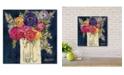 "Courtside Market True Blue 12"" x 12"" Wood Pallet Wall Art"