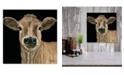 "Courtside Market Jersey Girl 12"" x 12"" Wood Pallet Wall Art"