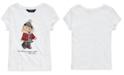 Polo Ralph Lauren Little Girl's Holiday Bear Cotton Jersey T-Shirt