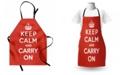 Ambesonne Keep Calm Apron