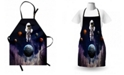 Ambesonne Outer Space Apron