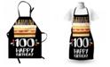 Ambesonne 100th Birthday Apron