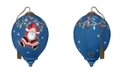 Ne'Qwa Hanging Around At Christmas Ornament