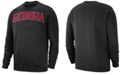 Nike Men's Georgia Bulldogs Club Fleece Crewneck Sweatshirt