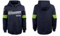 Nike Big Boys Seattle Seahawks Therma Hoodie