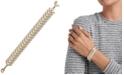 Lucky Brand Two-Tone Arrow Link Bracelet