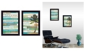 """Trendy Decor 4U Today is a New Day Collection By Marla Rae, Printed Wall Art, Ready to hang, Black Frame, 10"""" x 14"""""""