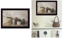 """Trendy Decor 4U He is the Potter By Billy Jacobs, Printed Wall Art, Ready to hang, Black Frame, 14"""" x 10"""""""