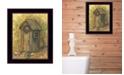 "Trendy Decor 4U Reading Room By Gail Eads, Printed Wall Art, Ready to hang, Black Frame, 10"" x 12"""
