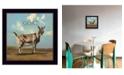 "Trendy Decor 4U Gracey the Goat by Bonnie Mohr, Ready to hang Framed Print, Black Frame, 14"" x 14"""