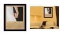 "Trendy Decor 4U I Do By Bonnie Mohr, Printed Wall Art, Ready to hang, Black Frame, 22"" x 18"""