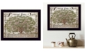 """Trendy Decor 4U Lessons from a Tree by Cindy Jacobs, Ready to hang Framed Print, Black Frame, 18"""" x 14"""""""