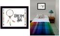 "Trendy Decor 4U Dream Big By Susan Boyer, Printed Wall Art, Ready to hang, Black Frame, 18"" x 14"""