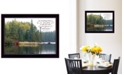 """Trendy Decor 4U To Everything There is a Season by Kim Norlien, Ready to hang Framed Print, Black Frame, 18"""" x 14"""""""