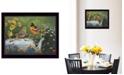 "Trendy Decor 4U Tea Time by Kim Norlien, Ready to hang Framed Print, Black Frame, 14"" x 18"""