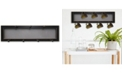 "Trendy Decor 4U Trendy Decor 4U 7-Peg Mug Rack by Millwork Engineering, Black Frame, 26"" x 7"""