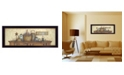 """Trendy Decor 4U Live Life Simply By Mary June, Printed Wall Art, Ready to hang, Black Frame, 38"""" x 14"""""""