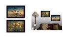 """Trendy Decor 4U Comfort of Home Collection By Jim Hansen, Printed Wall Art, Ready to hang, Black Frame, 20"""" x 14"""""""