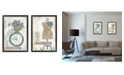 Trendy Decor 4U Trendy Decor 4U Beautiful Journey Collection By Annie LaPoint, Printed Wall Art, Ready to hang Collection