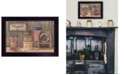 """Trendy Decor 4U Sweet Land of Liberty By Pam Britton, Printed Wall Art, Ready to hang, Black Frame, 18"""" x 14"""""""