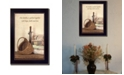 """Trendy Decor 4U Trendy Decor 4U Quilted Together By SUSAn Boyer, Printed Wall Art, Ready to hang, Black Frame, 14"""" x 10"""""""