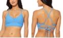 Jessica Simpson Rose Bay Textured Midkini Bikini Top
