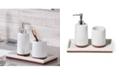 Roselli Trading Company Eleganza 3-Pc. Bath Accessory Set