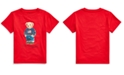 Polo Ralph Lauren Toddler Boys Sweater Bear Cotton Jersey T-Shirt, Created For Macy's