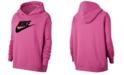 Nike Plus Size Icon Clash Patches Fleece Hoodie