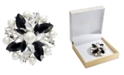 Charter Club Silver-Tone Crystal, Stone & Imitation Pearl Cluster Pin, Created for Macy's