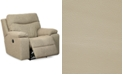 "Furniture Ronse 41"" Leather Wallhugger Power Recliner"