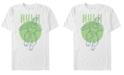 Marvel Men's Avengers Endgame Polka Dot Hulk, Short Sleeve T-shirt