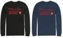 Marvel Men's Avengers Endgame Iron Man I Love You 3000 Text, Long Sleeve T-shirt