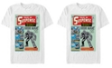 Marvel Men's Iron Man Retro Tales of Suspense Comic Cover, Short Sleeve T-shirt
