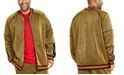 INC International Concepts INC Men's Big & Tall Metallic Track Jacket, Created For Macy's