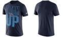 Nike Men's Tennessee Titans Dri-Fit Cotton Mezzo Local Verbiage T-Shirt