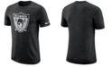 Nike Men's Oakland Raiders Marled Historic Logo T-Shirt