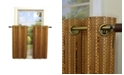Versailles Home Fashions Bamboo Tier Set