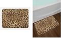 Ambesonne Leopard Print Bath Mat