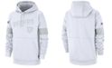 Nike Men's Oakland Raiders 100th Anniversary Sideline Line of Scrimmage Therma Hoodie