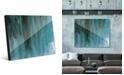 Creative Gallery Kijuujuu in Teal Abstract Acrylic Wall Art Print Collection