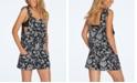 Raisins Juniors'  Las Flores Printed Romper Cover-Up