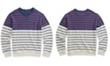 Polo Ralph Lauren Big Boys Striped Cotton French Terry Sweatshirt