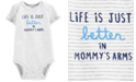Carter's Baby Boys Cotton Mommy's Arms Bodysuit