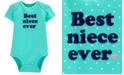 Carter's Baby Girls Cotton Best Niece Bodysuit