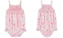 Carter's Baby Girls 1-Pc. Smocked Floral-Print Swim Suit
