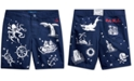 Polo Ralph Lauren Toddler Boys Nautical-Print Swim Trunks