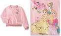 Disney Little Girls Princesses Bomber Jacket
