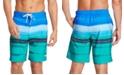 Speedo Men's Bondi Ombré Gradient Stripe 2-Way Stretch UPF 50+ Board Shorts