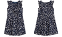 Polo Ralph Lauren Toddler Girls Floral Cotton Dobby Dress